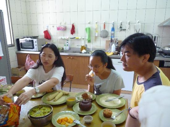 Taiwan Thumb-up B&B: 100%自然、豐盛的早餐喔!