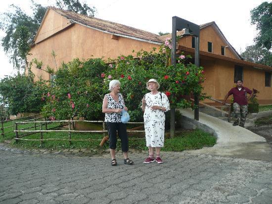 Hacienda El Progreso: Von diesem Punkt aus gehen die Touren ab