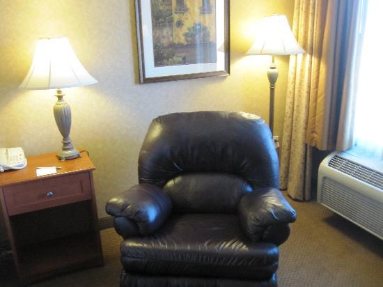 Hampton Inn & Suites Temecula: Comfortable recliner
