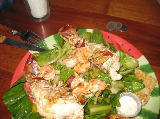 Sandros Piccola Cucina: made fresh seafood salad