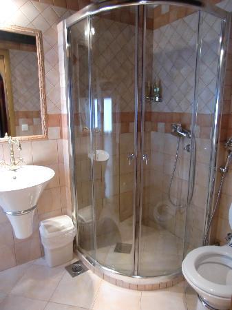 Bosnian National Monument Muslibegovic House Hotel: バスルーム
