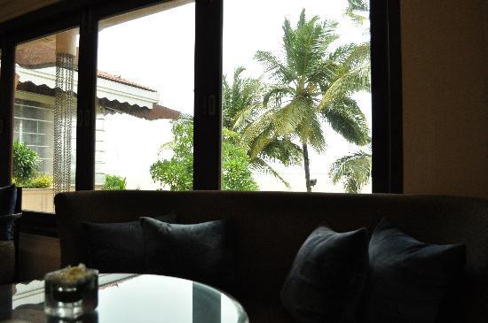 กัวมาริออทรีสอร์ทแอนด์สปา: Coffee lounge