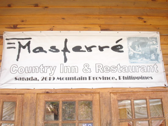 Masferre Country Inn and Restaurant: from the road