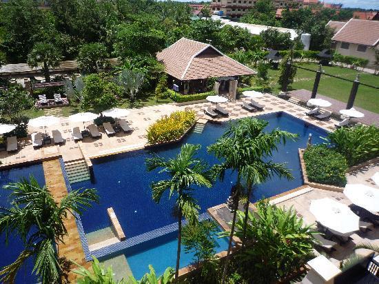 Angkor Miracle Resort & Spa: 部屋から見た景色