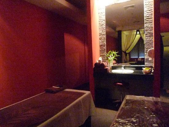 Angkor Miracle Resort & Spa: スパの一室