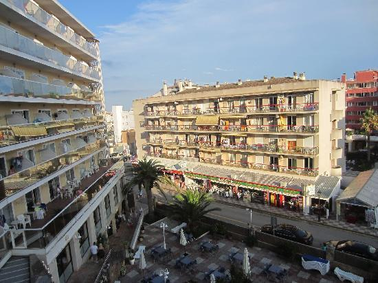 Hotel Esplai: view from the hotel room