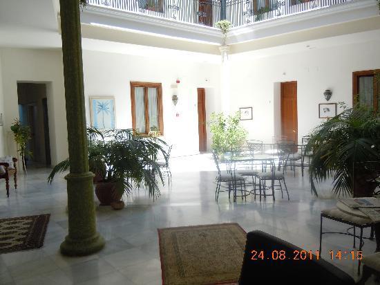 Casa Grande: patio du petit déjeuner
