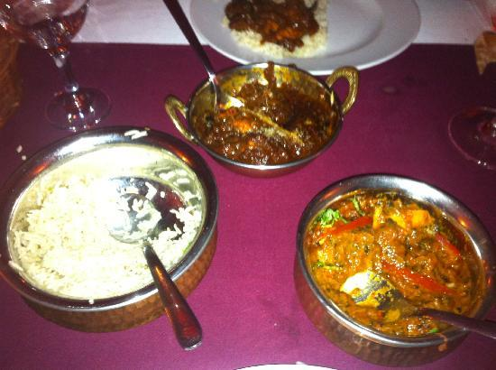 Lal Qila - The Indian Restaurant : The main dishes