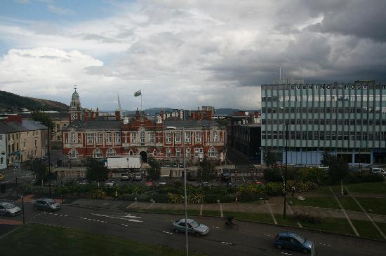 Premier Inn Swansea City Centre Hotel: view from room