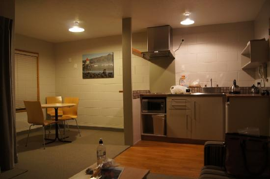 Akaroa Waterfront Motels: Kitchen