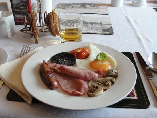 An Grianan: colazione
