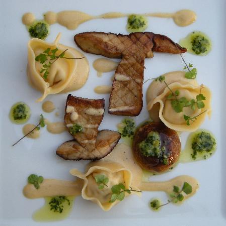 La Metairie des Songes: Spring Cèpes, Foie Gras Ravioli