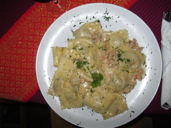 Alta Marea Italian & Thai Restaurant: RAVIOLI DI PESCE