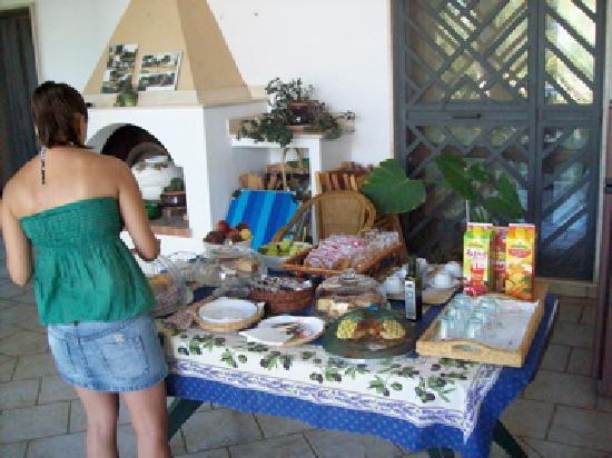 B&B Villa delle Palme : le colazioni!!!!;-)