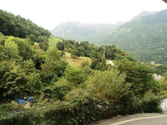 Luz-Saint-Sauveur, Francia: Vue de la terrasse