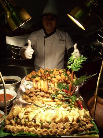 Hotel Istana: Just one of the many types of food they offer