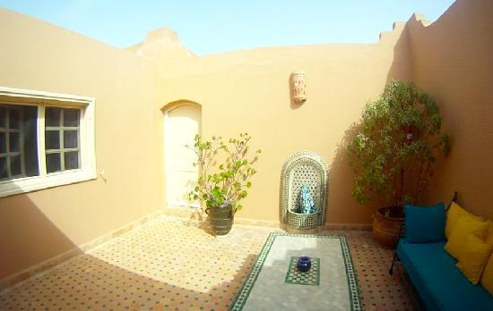 Riad Dar Maktoub: Terrasse de chambre