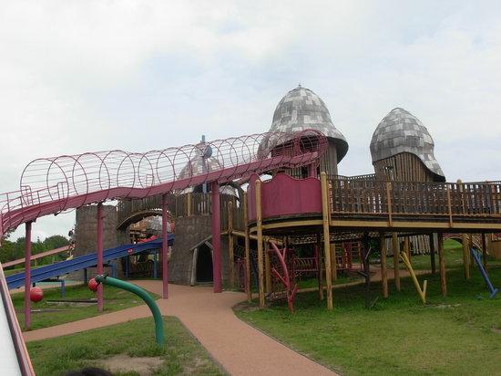 Bihoku Hillside Park: 遊具