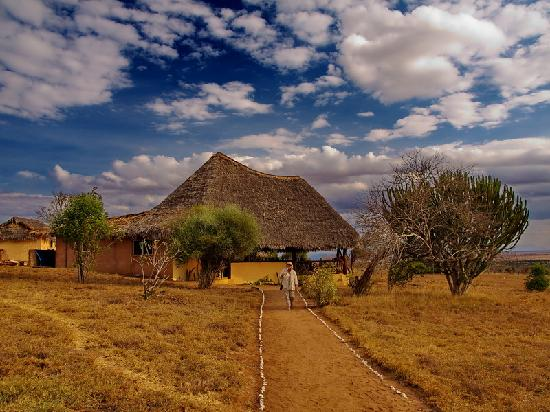 Lualenyi Camp: Zona pranzo-riposo