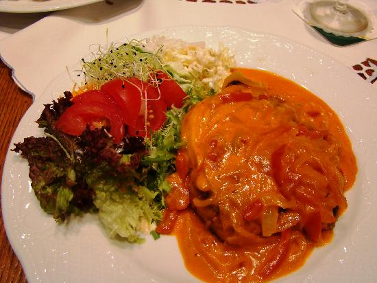 "Hotel Eifeler Hof - restaurant - the best ""Paprika-schnitzel"" in the world"