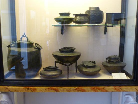 Utensilios de cocina romana fotograf a de museo for Utensilios cocina barcelona