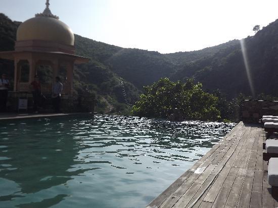 Samode Palace : piscine