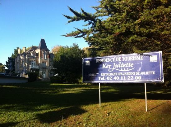 Domaine Ker Juliette : La Villa Ker Juliette qui a donné son nom la Résidence
