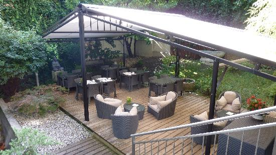 Terrasse Jardin Picture Of Hotel Jade Manotel Geneva Geneva