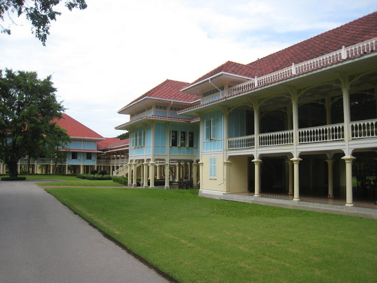 Cha-am, Thailand: The northern part of the Palace