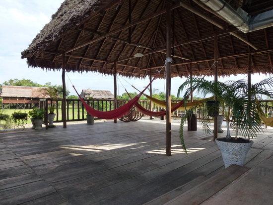 Yakuruna Guest House: Le coin détente