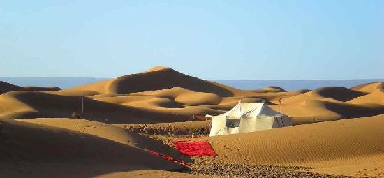 Dar Azawad: nos bivouacs dans le désert