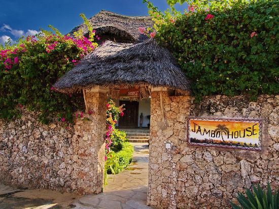 Jambo House Resort: entrata