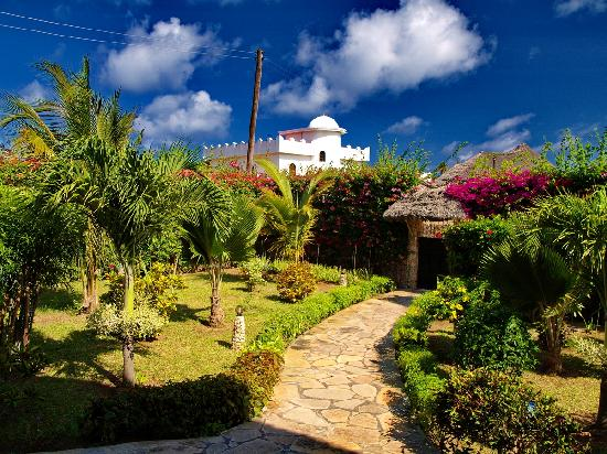Jambo House Resort: giardino