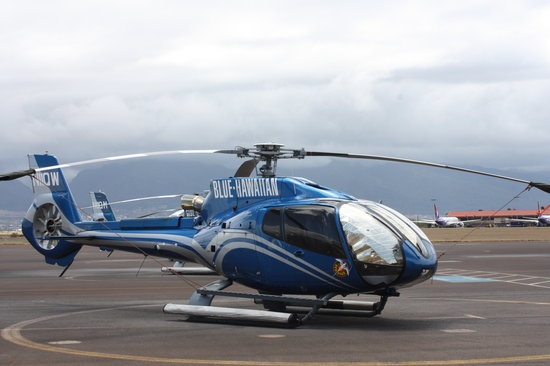 Blue Hawaiian Helicopter Tours - Maui: The Eco-Star helicopter