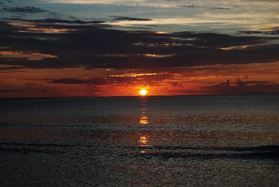 Waya Island, Fiji: tramonto