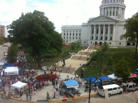 Madison Wi Exactly How Many Square >> Madison Farmer S Market All You Need To Know Before You Go