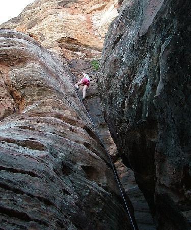Zion Rock & Mountain Guides: zion canyon climbing