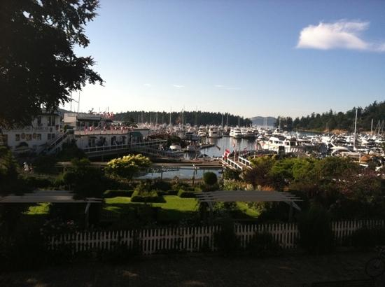 Roche Harbor Resort: the view from our balcony