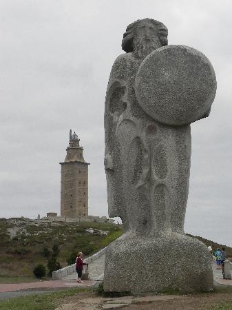 Tower of Hercules (Torre de Hercules) : Ercole