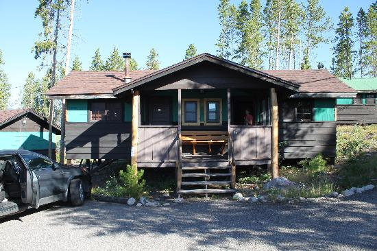 Grand Lake Lodge: Spruce half cabin