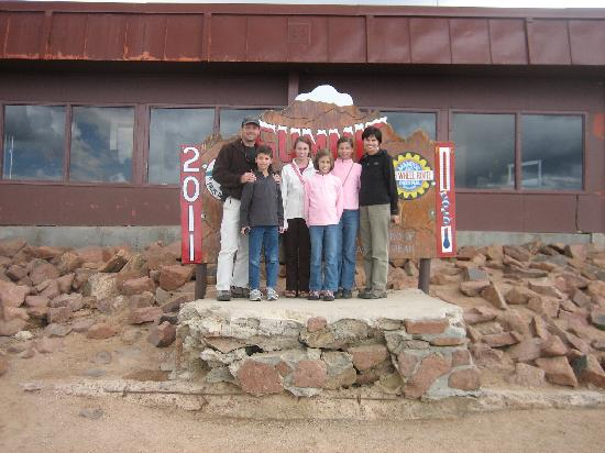 Pikes Peak: Great views!