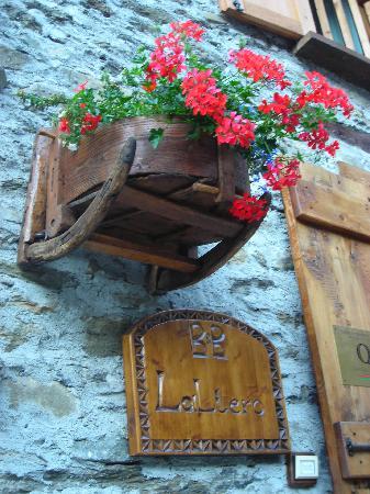 La Liero : fiori di benvenuto