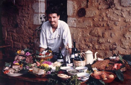 Tursac, France: le patron/ chef cuisinier