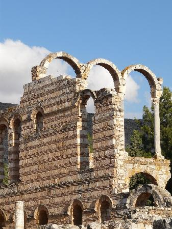 Umayyad Ruins of Aanjar: guterhaltene Bauten