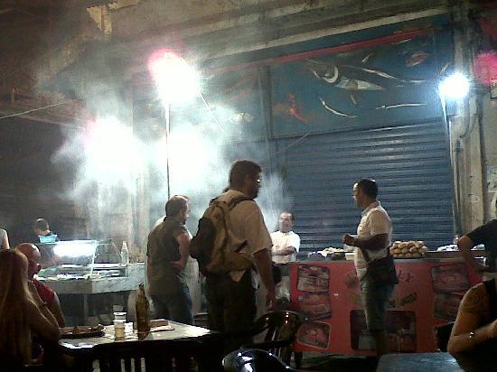 La Vucciria: smoke
