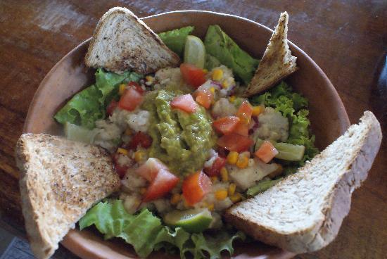 PRAIAZINHA: Le fameux Ceviche