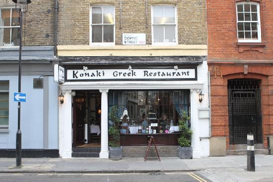 Konaki Greek Restaurant Bloomsbury London