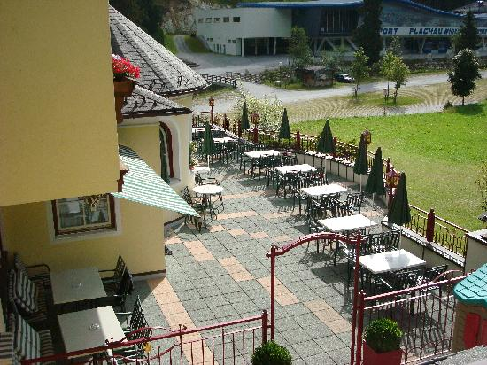 Hotel Wieseneck: Outdoor terrace