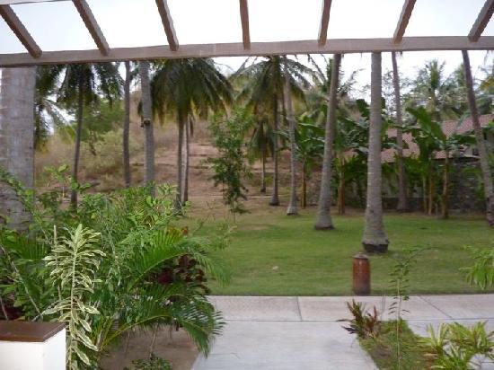 "Cocotinos Sekotong, Boutique Beach Resort & Spa: ""vue"" de notre chambre !!!"