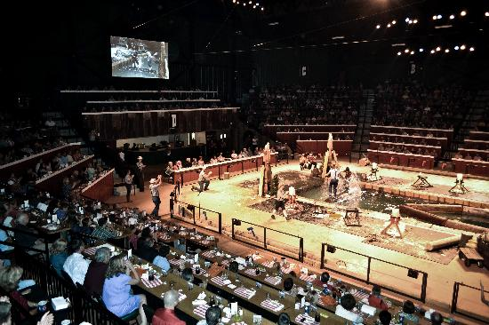 Lumberjack Feud Dinner Show: Join us in our 1,000 seat arena!